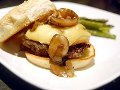 Cassie Craves: Burger and Fries Friday: Marsala Burgers