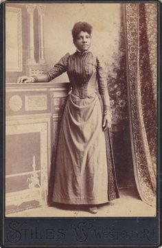 Beautiful Victorian African American Woman by EphemeraObscura, $75.00