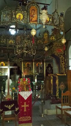 """The Church at the Monastery of """"The Transfiguration of Jesus"""" in Kymi-Evia, Greece!"""