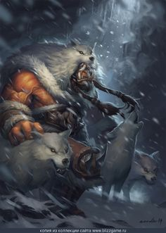 Shelter from the Snow by Noodles » Галерея » World of Warcraft