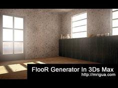 3ds max Floor Generator tutorial