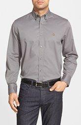 Nordstrom Smartcare™ Traditional Fit Twill Boat Shirt (Regular & Tall)