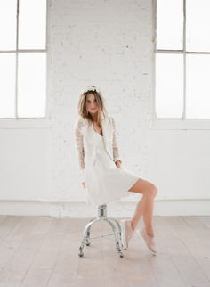 Short wedding dress inspiration for Magpie Wedding's creative and quirky brides. Rime Arodaky, Short Dresses, Formal Dresses, Wedding Dresses, Showroom, Boho Chic, Happy Wedding Day, Parisian, Marie