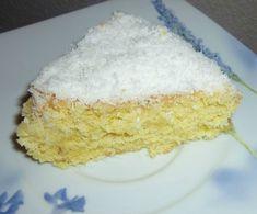 Gâteau neige à la noix de coco