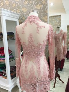 Kebaya Lace, Kebaya Brokat, Kebaya Wedding, Wedding Dresses, Model Kebaya, Dress Pesta, Kebaya Muslim, Traditional Dresses, Hijab Fashion