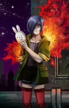 DeviantArt: More Collections Like Touka [Tokyo Ghoul] by riikai