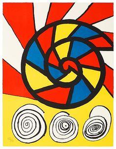 Alexander Calder, sonet 1976