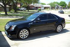 Cadillac CTS, Bose sound system and heated seats spoil you;)