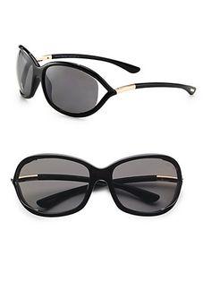 c8b3243f3b0 Tom Ford Jennifer FT0008 Sunglasses-692 Dark Brown (Gradient Brown ...