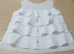 Resultado de imagen para patrones de blusas faciles de hacer