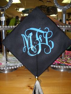graduation cap... Can't believe it's less than 60 days away.