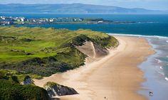 Portrush Golf Club on Antrim's north coast