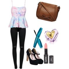 Untitled #64 by feffymoya-1 on Polyvore featuring polyvore fashion style J Brand Dorothy Perkins