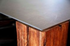 House table (Textil Black model). #Neolith #TextilCollection