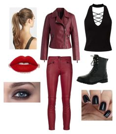 """""""The flash meta human outfit"""" by mariseybear ❤ liked on Polyvore featuring Miss Selfridge, West Blvd, France Luxe, Barbara Bui and Chicwish"""