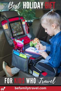 Road Trip With Kids, Family Road Trips, Travel With Kids, Family Travel, Travel Tray, Car Travel, Travel Bags, Toddler Gifts, Gifts For Kids