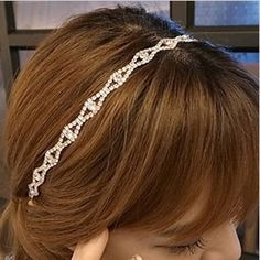 High Quality Luxurious New Fashion Simulated Diamond Crystal Hair Accessories Wedding Headbands for Ladies Women Free Shippping