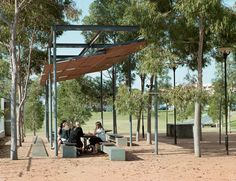 HASSELL | Projects - Victoria Park Public Domain