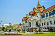Indochina Itinerary - Thailand-Cambodia-Vietnam Tour & Budget Trip for First-Timers Budget Travel, Travel Guide, Cambodia Itinerary, Vietnam Tours, Thing 1, Bangkok, Palace, Budgeting, Thailand