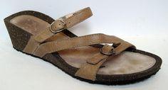 Teva Women's 'Ventura Wedge Modoc Rialto' Brown Leather Sandal Size 10 #Teva #PlatformsWedges