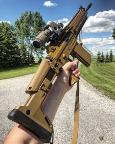 #ArmAndGun // Chilean Heat - Follow @shootingcentre Follow @gsdesigns.ca - = FAMAE 542 {.308} - The Calgary Shooting…
