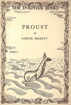 #beckett #proust #book #cover