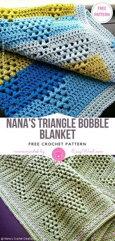 Watch The Video Alluring Beginner Crochet Blanket Ideas. Giant Knit Blanket, Crochet Square Blanket, Afghan Crochet Patterns, Baby Blanket Crochet, Crochet Blankets, Crochet Afghans, Crochet Squares, Love Crochet, Crochet Yarn