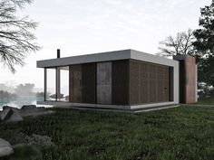 Фото — Lounge House — Architecture.  click 4 simple plan.  must b guest house, or vacation getaway.