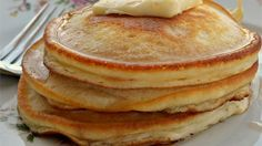 This secret family recipe for granddad's pancakes was passed down through the family and will become a family favorite in your house too.
