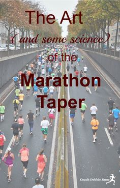 Some athletes will say that the marathon taper is the most challenging part of training. It is also a vital component to your overall marathon training. The Art (and some science) of the Marathon Taper. Running Humor, Running Motivation, Running Workouts, Running Tips, Treadmill Workouts, Cardio, Running Plans, Running Race, Marathon Taper