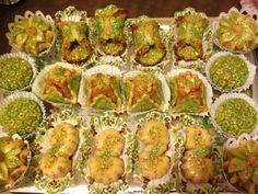 Gâteaux algériens de ma copine Nabila
