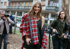 The Best Street Style Beauty From Phil Oh's Milan Fashion Week Fall 2017 Snaps