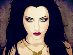 Evanescence's Amy Lee by AlyOh