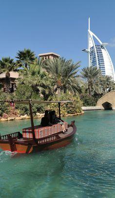 Souk Madinat Jumeirah in Dubai , United Arab Emirates