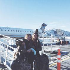 """""""E quando só vai você e sua amiga no voo?!  #privatejet"""""""