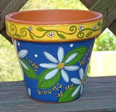 Hey, I found this really awesome Etsy listing at https://www.etsy.com/listing/74503404/flower-pot-6-inch-love-blooms-made-to