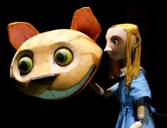 Alice in Wonderland puppets At The Little Angel