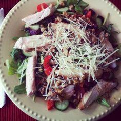 arugula and chicken salad