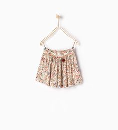 Flowing printed Bermuda shorts-SKIRTS AND SHORTS-GIRL | 4-14 years-KIDS | ZARA United States