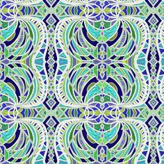 Angle sea fabric by su_g on Spoonflower - custom fabric