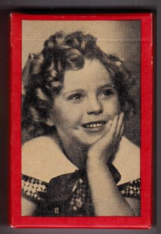 1930s Shirley Temple Bridge Cards