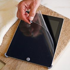 Williams-Sonoma Smart Tools iPad® Screen Shields #williamssonoma Great idea! I use it along with the tablet stand for my iPad and follow recipes off websites and my favorite recipe app.