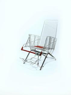 Winkelwagentjesstoel, - bank