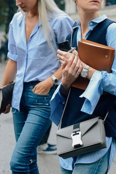 Double denim | Her Couture Life www.hercouturelife.com