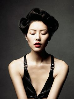 liu wen has replaced maggie cheung as most beautiful asian woman in my mind