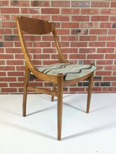 Drexel Parallel Mid Century Modern Dining Chair by NielsenModerne