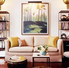 Symmetry - Home Decor Tips - Interior Design Trends - NYC Rooms Interior Design Magazine, Interior Design Tips, Living Room Inspiration, Home Decor Inspiration, Bright Homes, Creation Deco, Piece A Vivre, Apartment Living, Apartment Therapy
