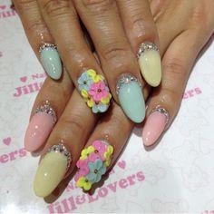 Pastel Claw Nails | Jill