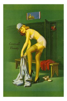 Coverall Beauty Premium Poster