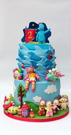 Celebrate with Cake In the Night Garden Cake Party Ideas